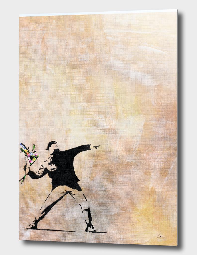 Banksy's Love is in the Air