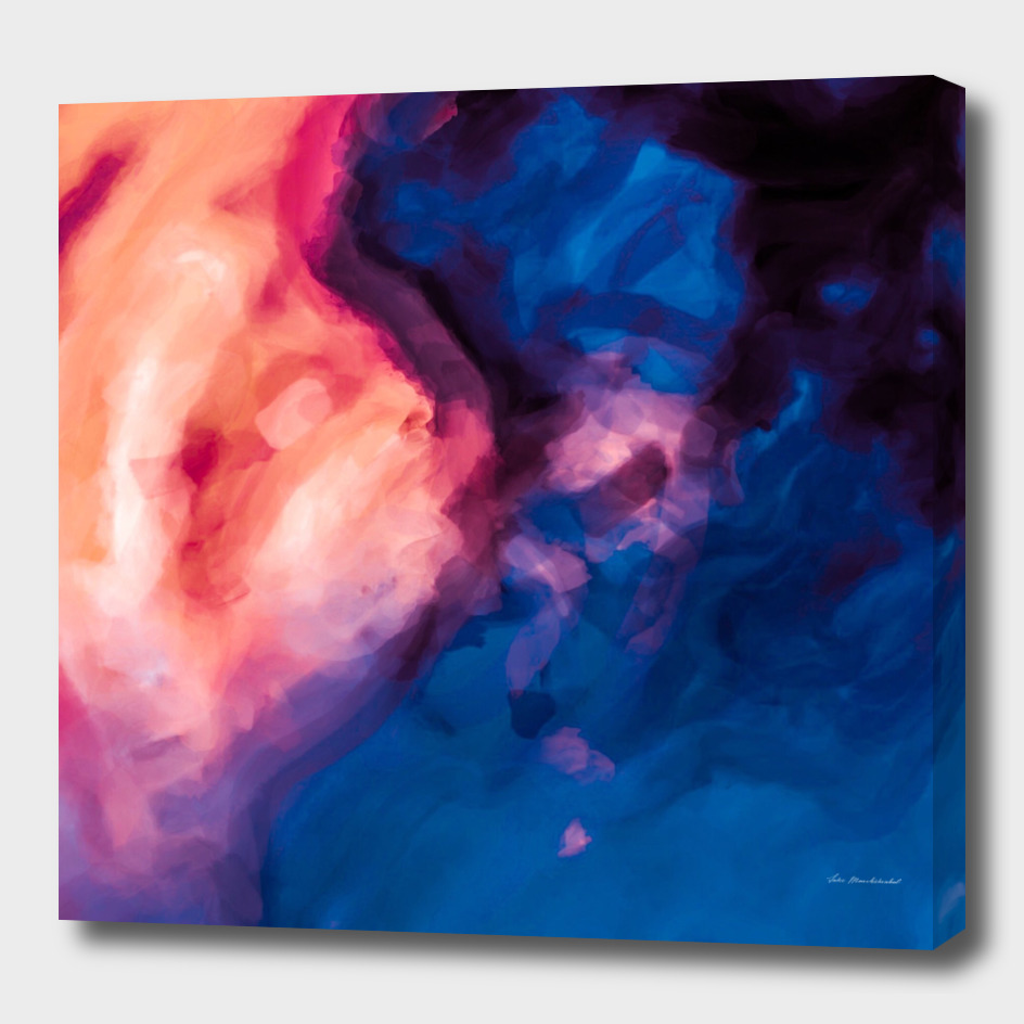 red purple and blue painting texture abstract background