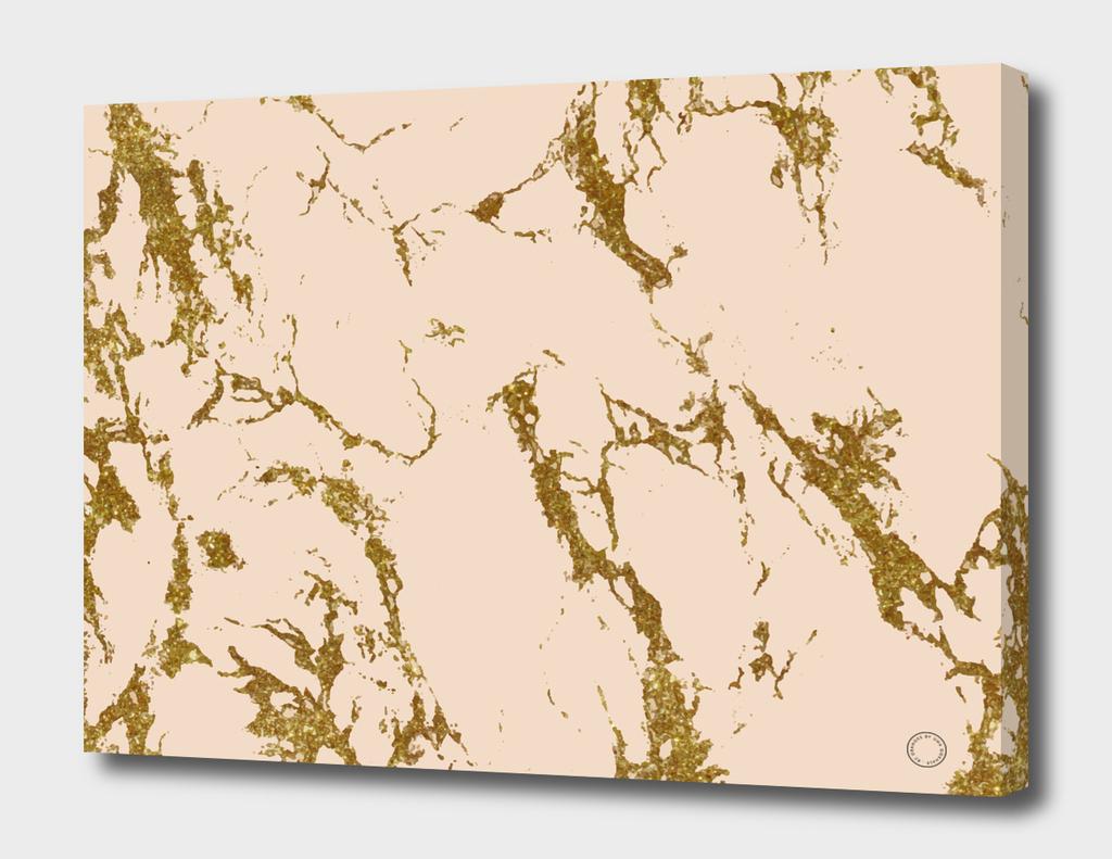 Blush & Gold Marble