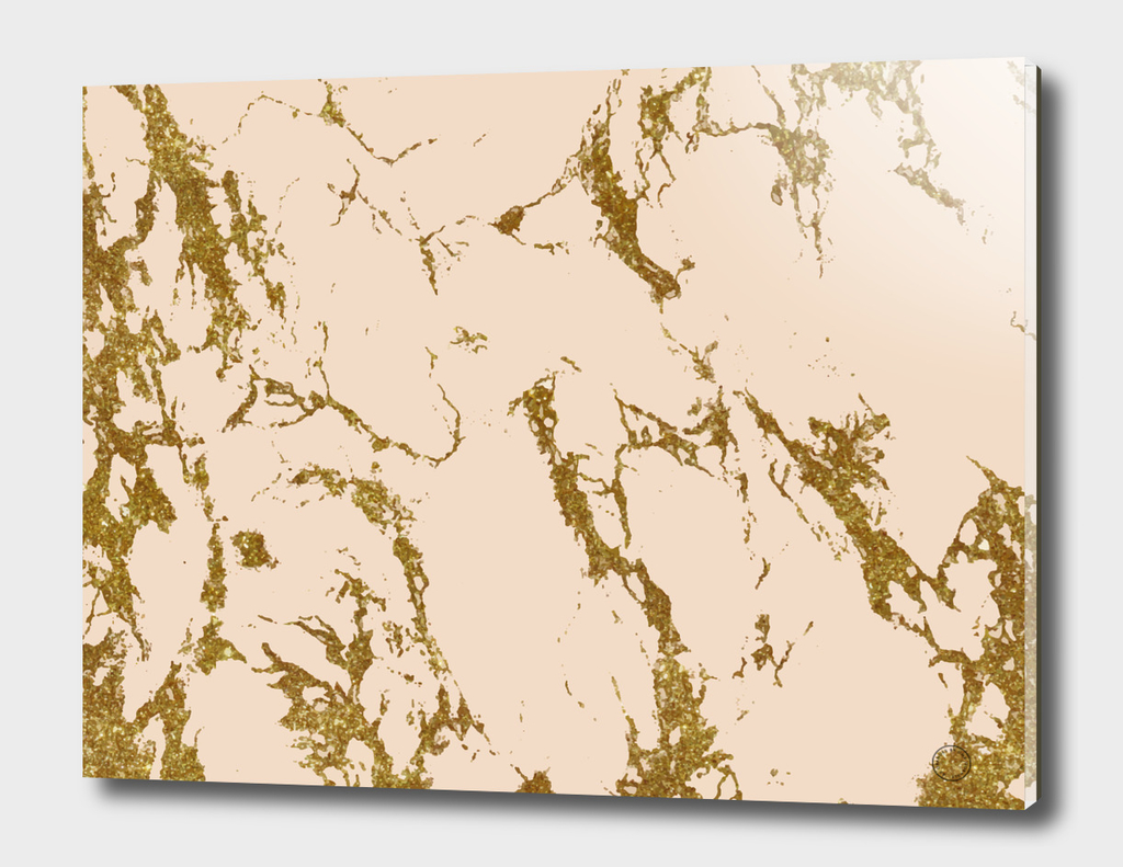 Blush & Gold Marble