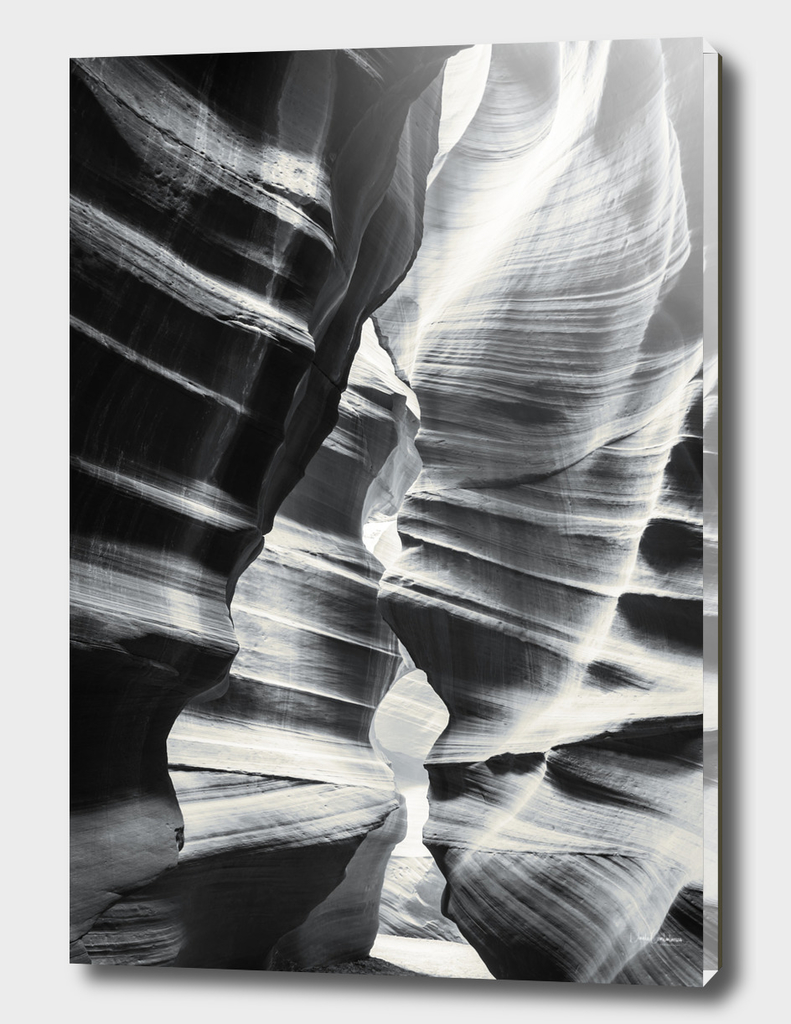 Waves of sandstone at Antelope