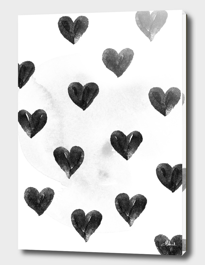 I drew a few hearts for you