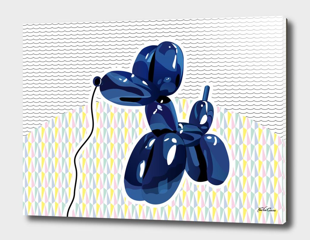 chien ballon pattern