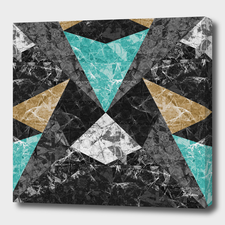 Marble Geometric Background G430