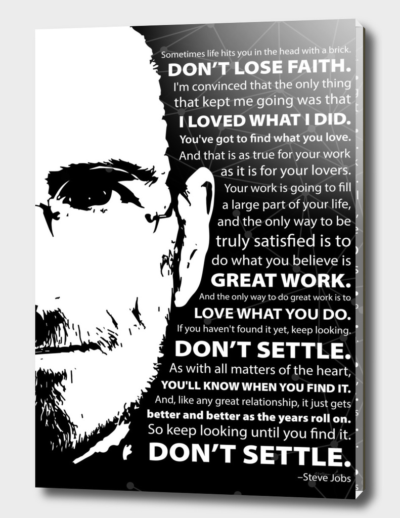 Don't Settle