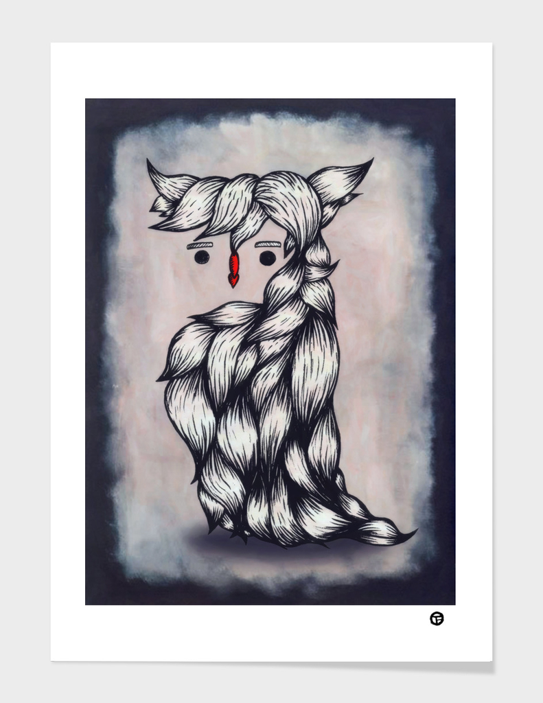 Her Owl Hair