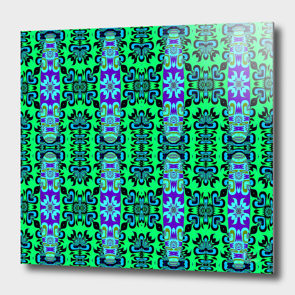 Surf Board Patterned Abstract
