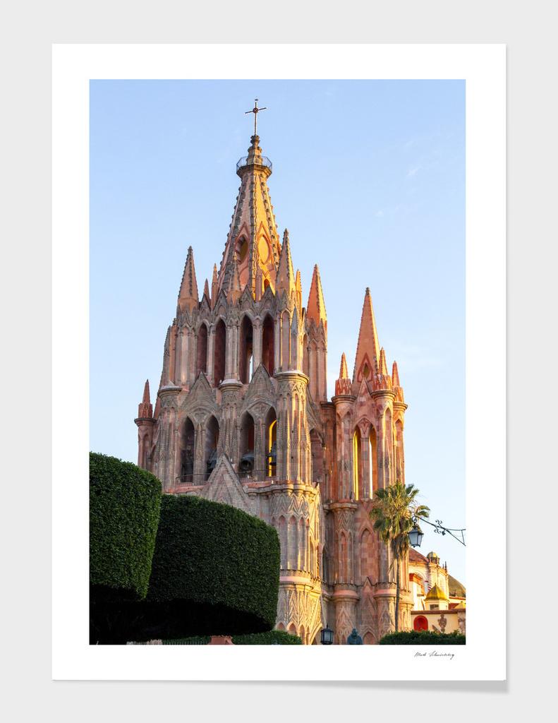 Baroque Architecture Parrocchia San Miguel de Allende