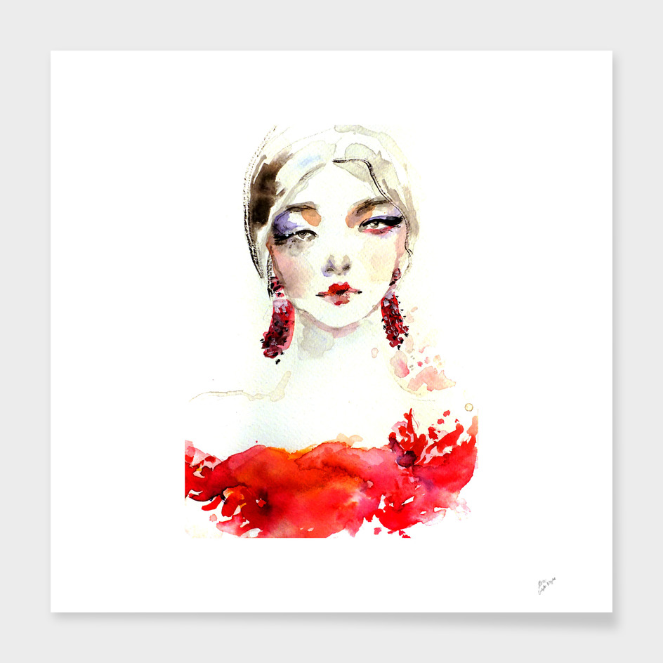 Fashion Illustration Marchesa