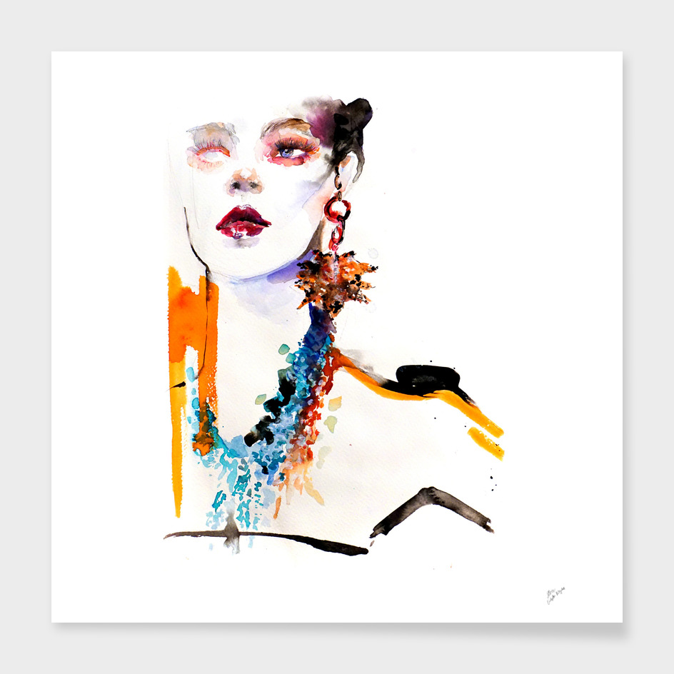 Fashion illustration 2017/2