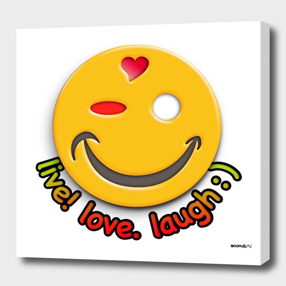 Boomgoo's Smile - live love laugh (31550)