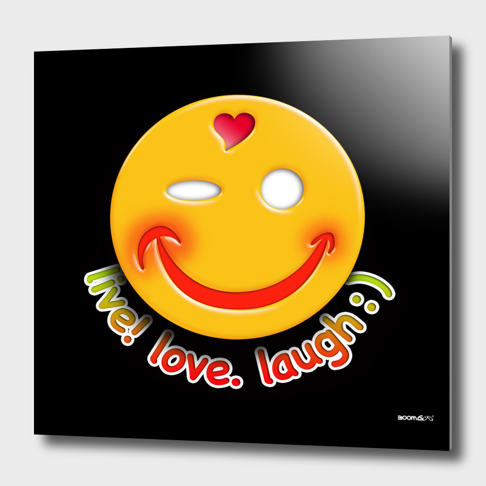 Boomgoo's Smile - live love laugh (31770)