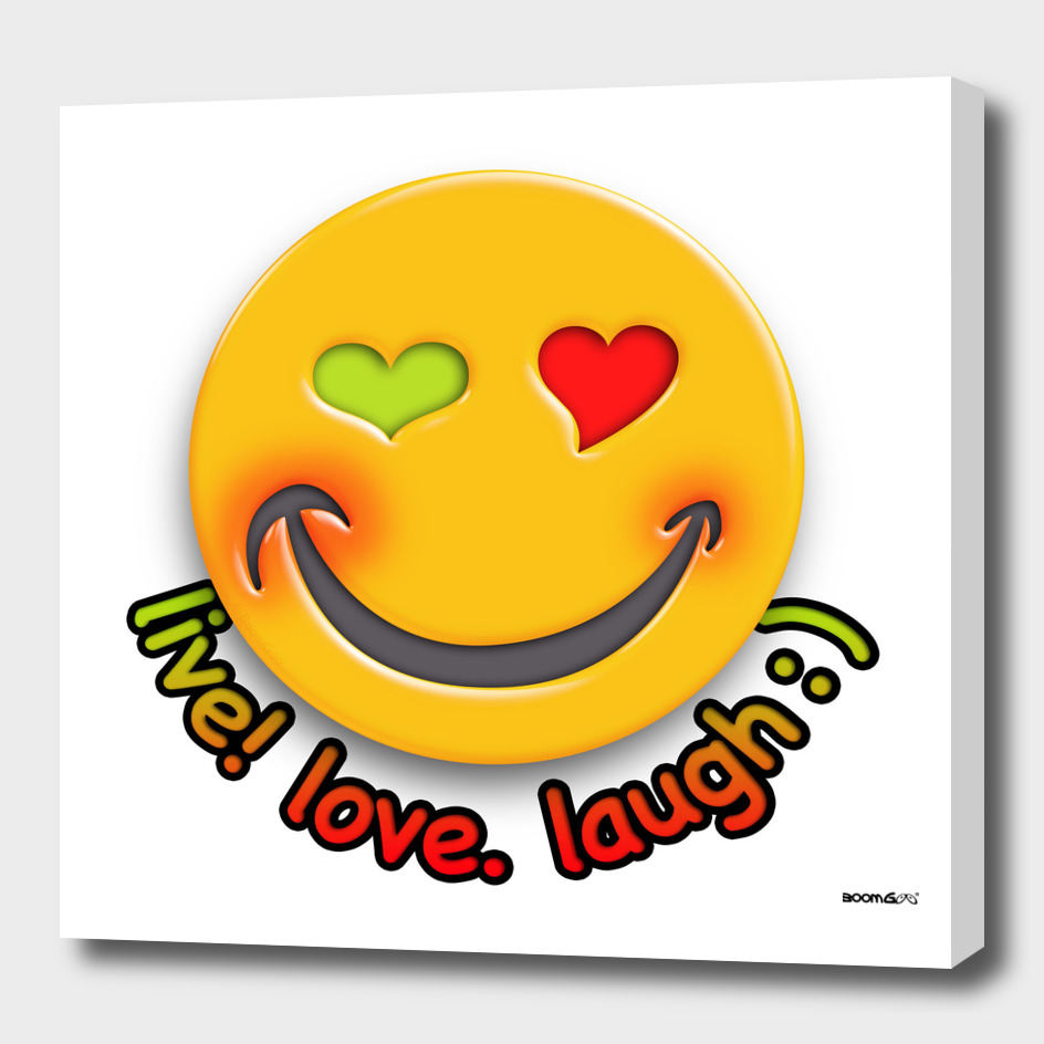 Boomgoo's Smile - live love laugh (42633)