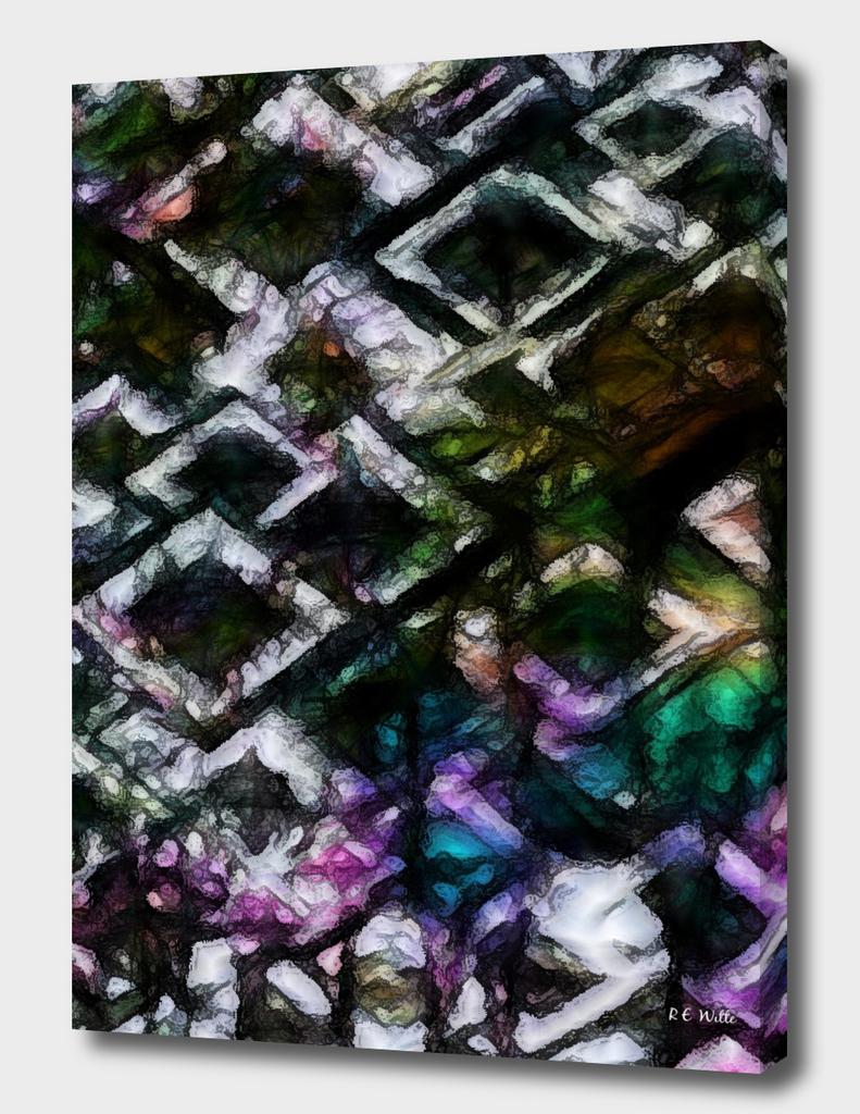 Oozing Diamond Plate Sky