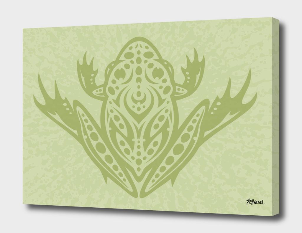 Tribal Leopard Frog