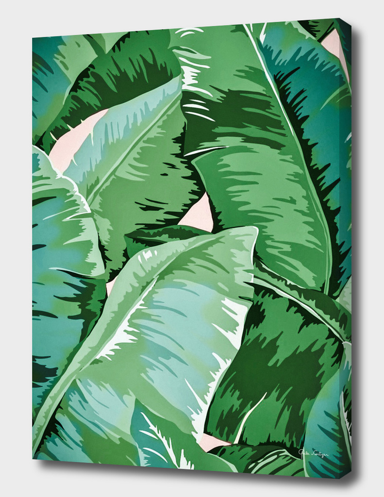 Banana leaf grandeur