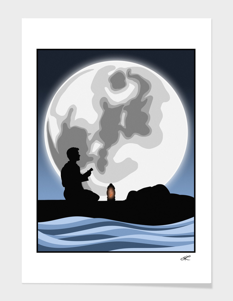 Cowboy Under the Moon