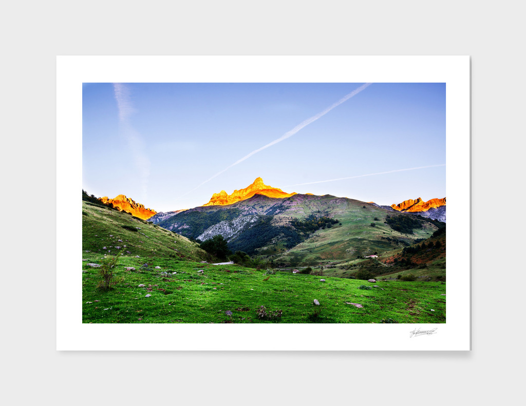 Pyrenees mountains in Spain