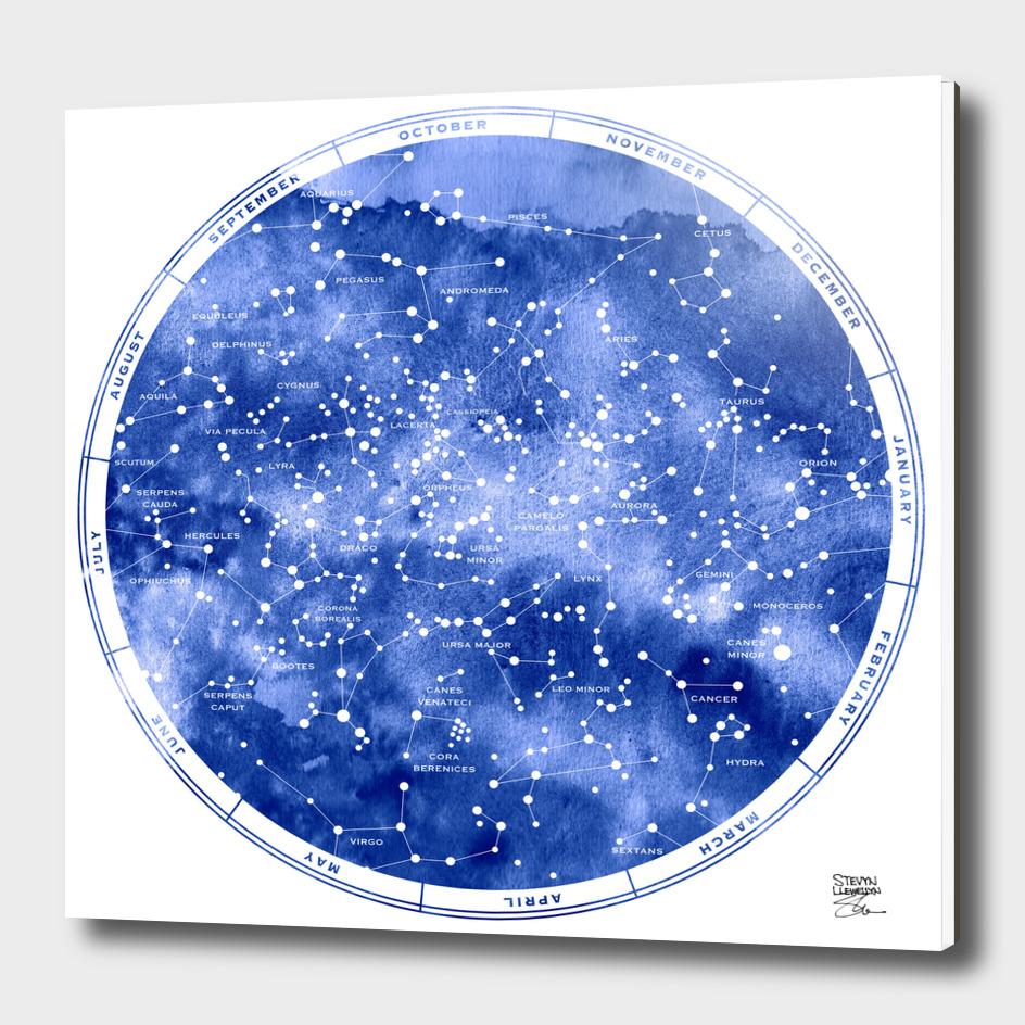 STAR MAP NORTH