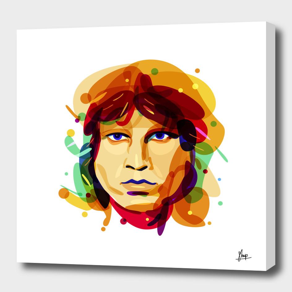 Psychedelic Jim Morrison