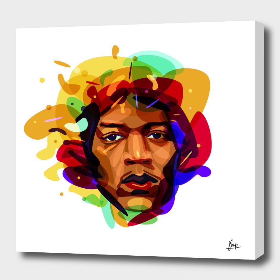 Psychedelic Jimy Hendrix