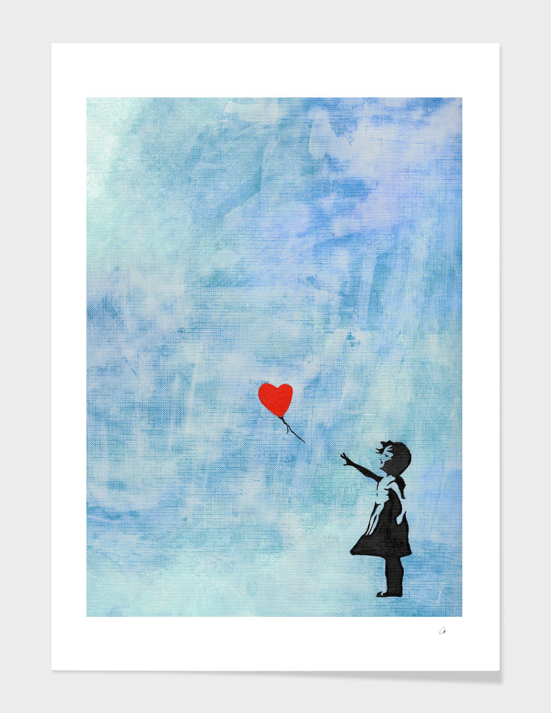 Banksy's Girl with a Ballon