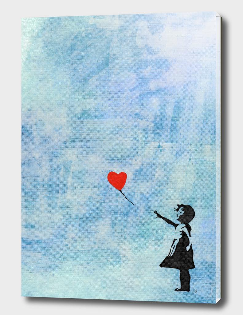 Banksy's Girl with a Ballon