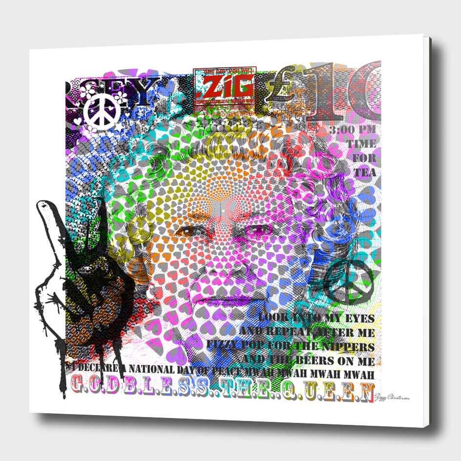God save the Queen (Psychedelic Speech Edition)