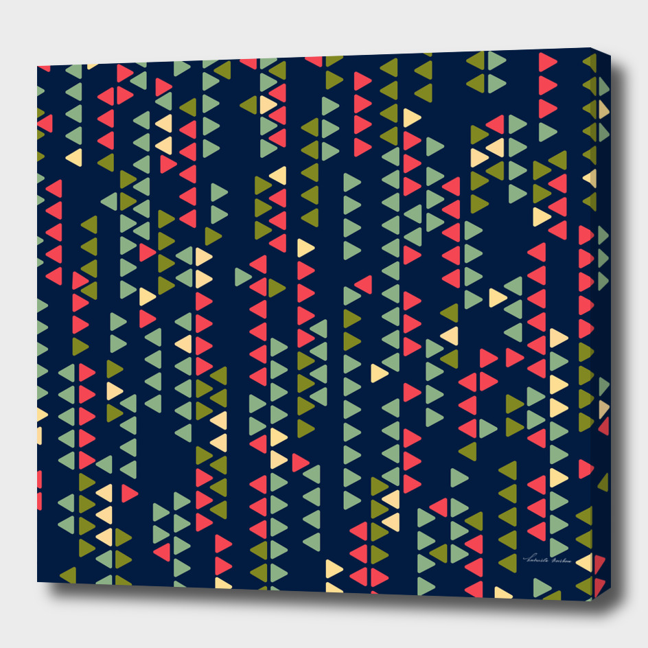 Boho geometric pattern