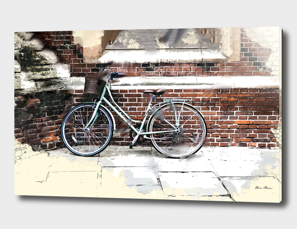 Urban Bike and Brick