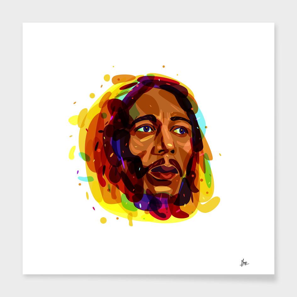 Psychedelic Bob Marley