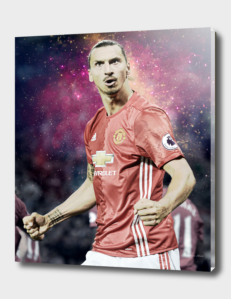 Zlatan Ibrahimovic Illustration