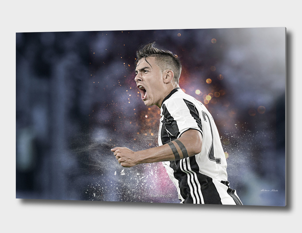 Paulo Dybala Juventus illustration