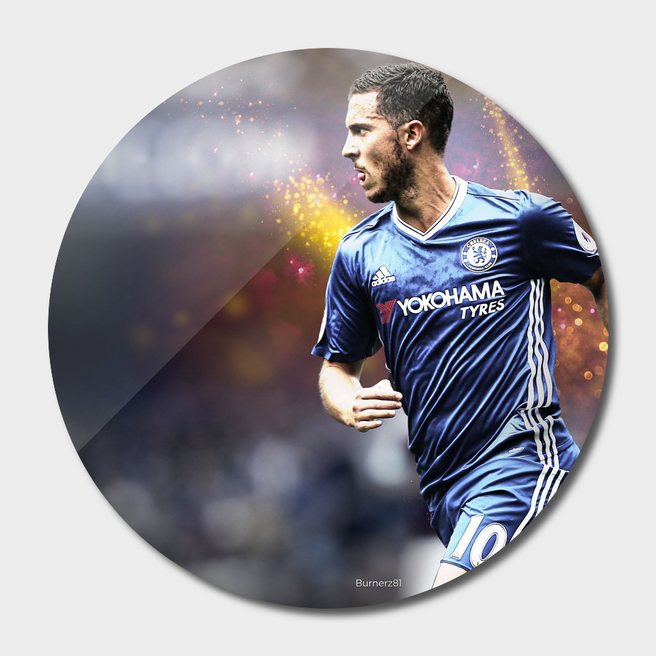 Eden Hazard Chelsea Illustration