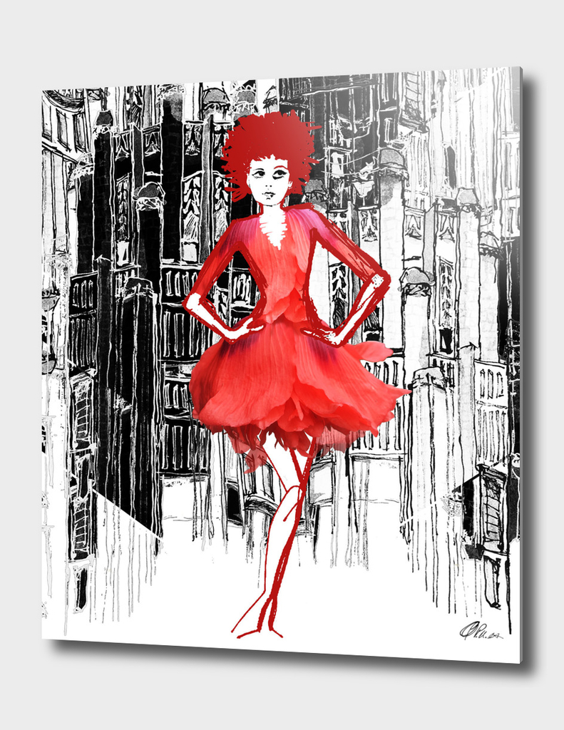 Poppy Dress Concept