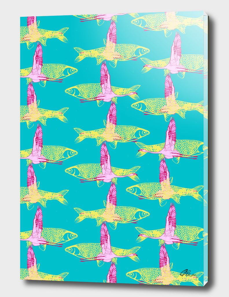 Fishy Flamingos
