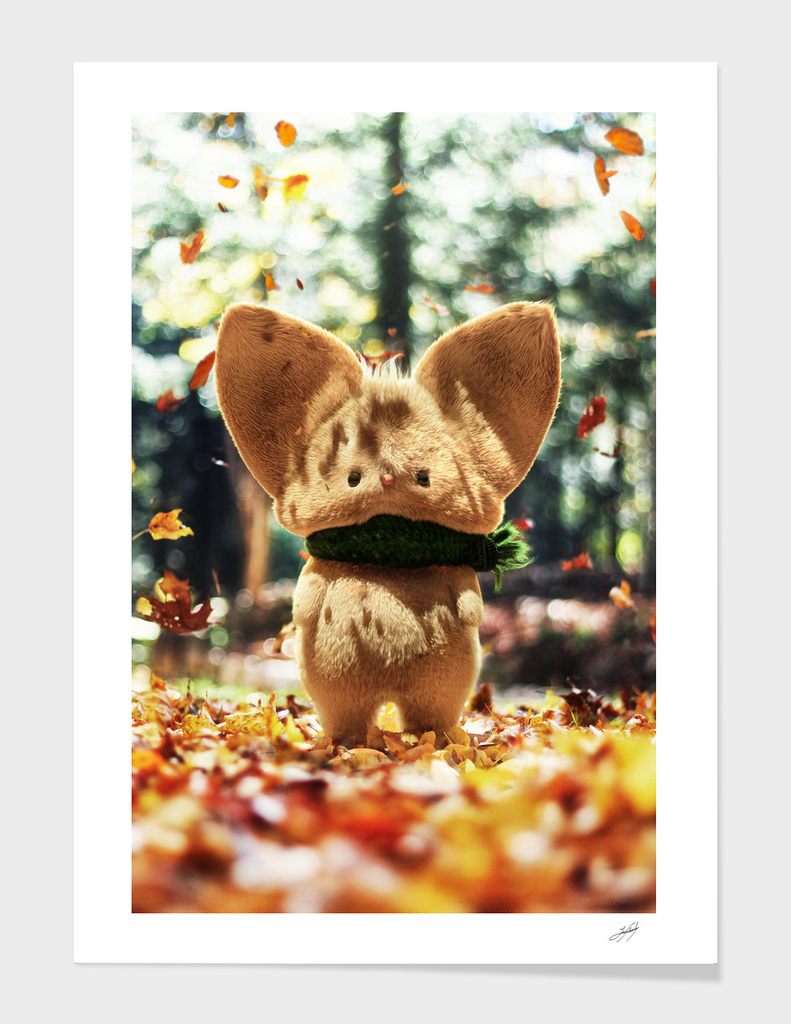 Timothy the autumn mouse