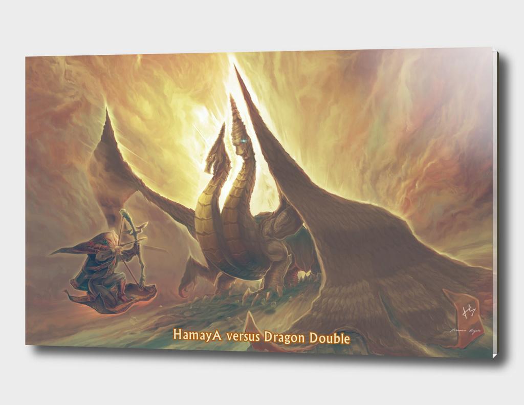 HamayaA  Versus Dragon Double