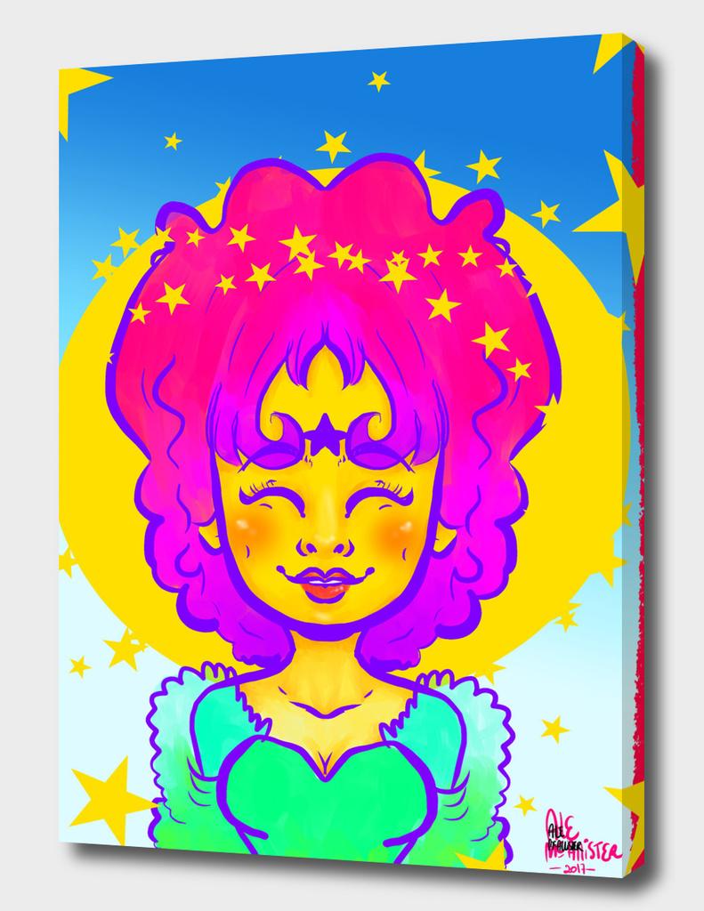 Shiny star by alemcallister