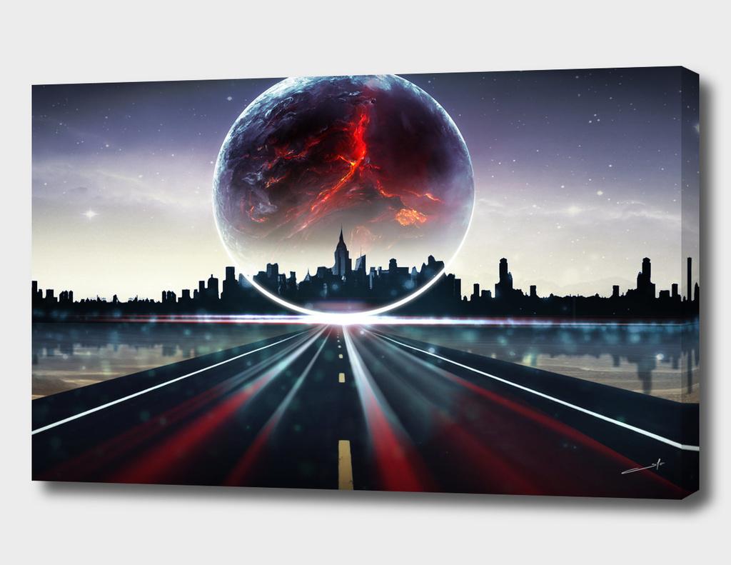 City Horizon Planet Nebiru