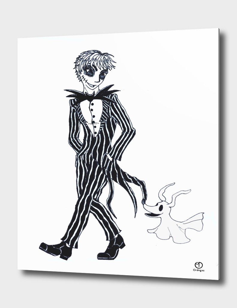 Jack Skeletton Human Version