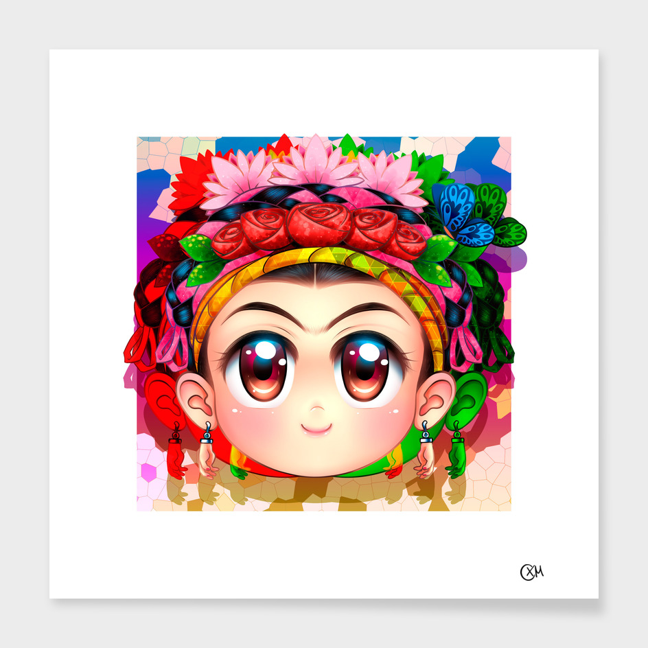 Frida Kahlo-Cute-Face