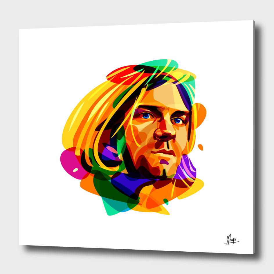 Psychedelic Kurt Cobain