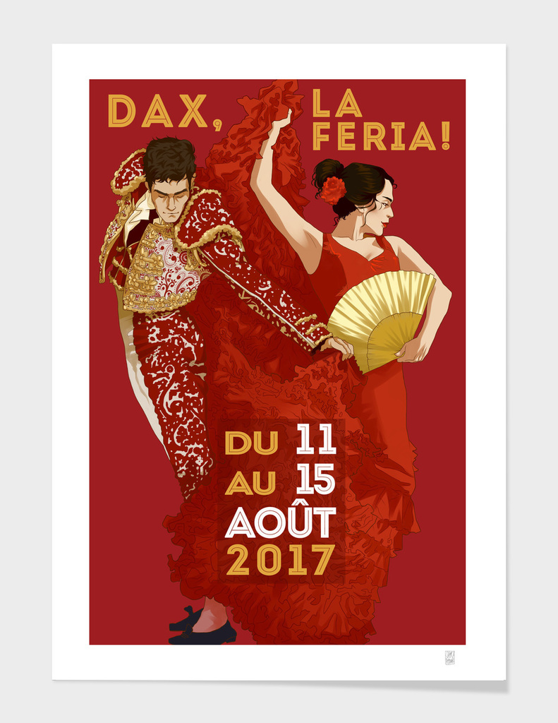 French Feria Poster