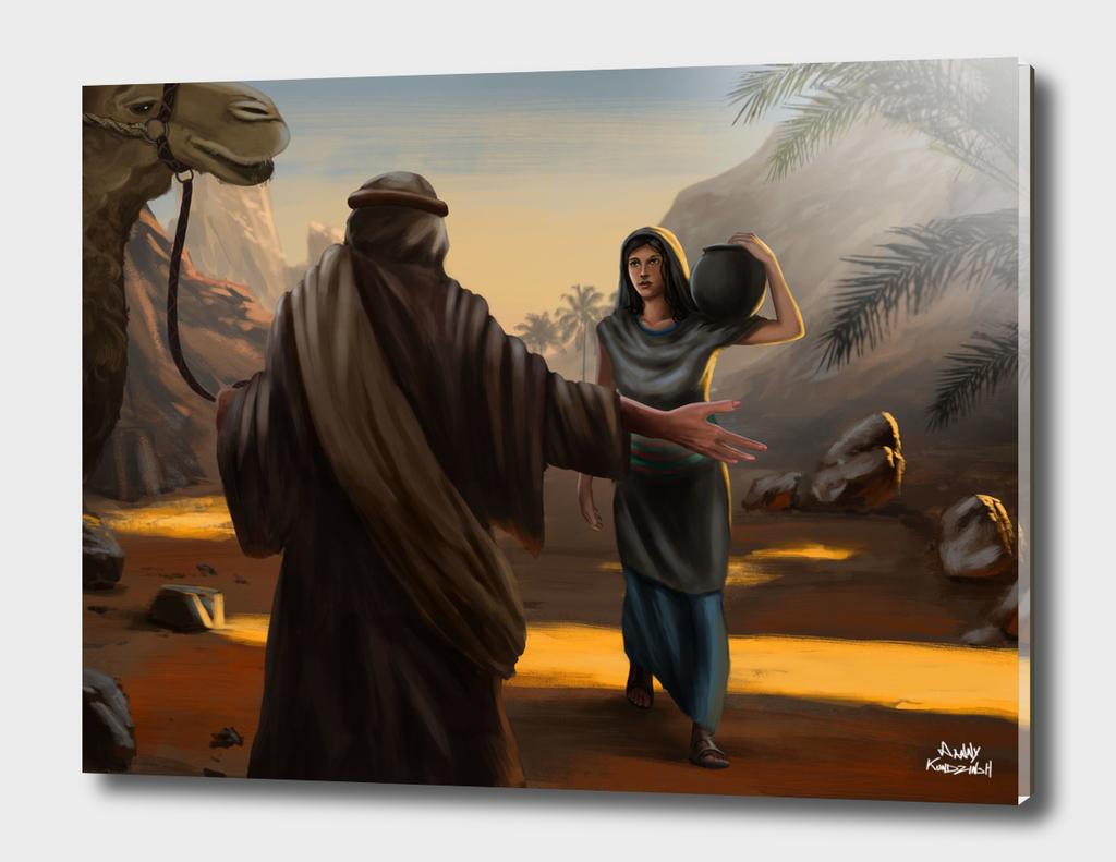 Rebekah and Abrahams servant