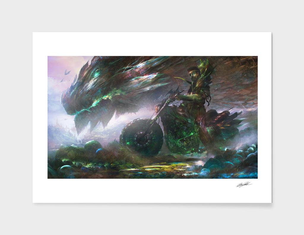 Raizel, The Dragon Breeder