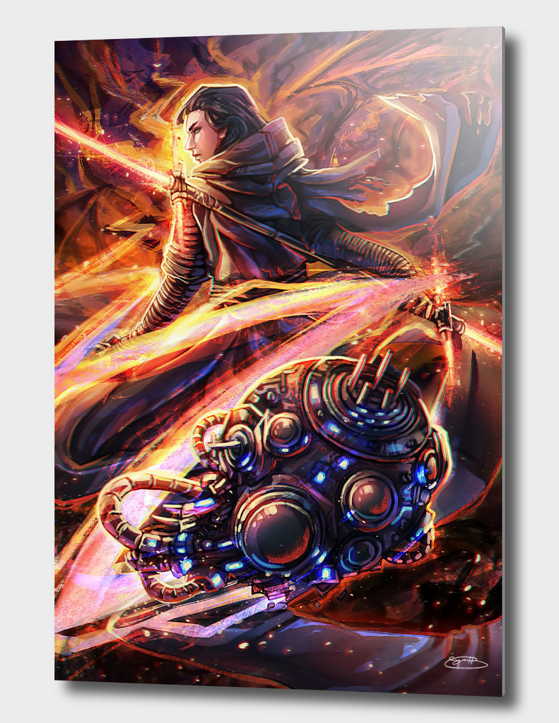 Star Wars Tarot: Knight of Wands