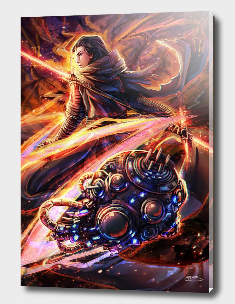 Star Wars Tarot: Knight of Wands