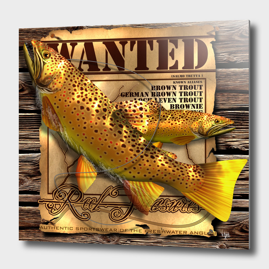 REEL TREASURES WANTED- Brown Trout