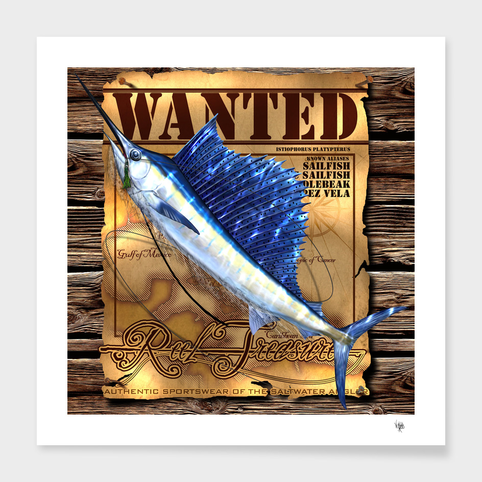 REEL TREASURES WANTED- Sailfish